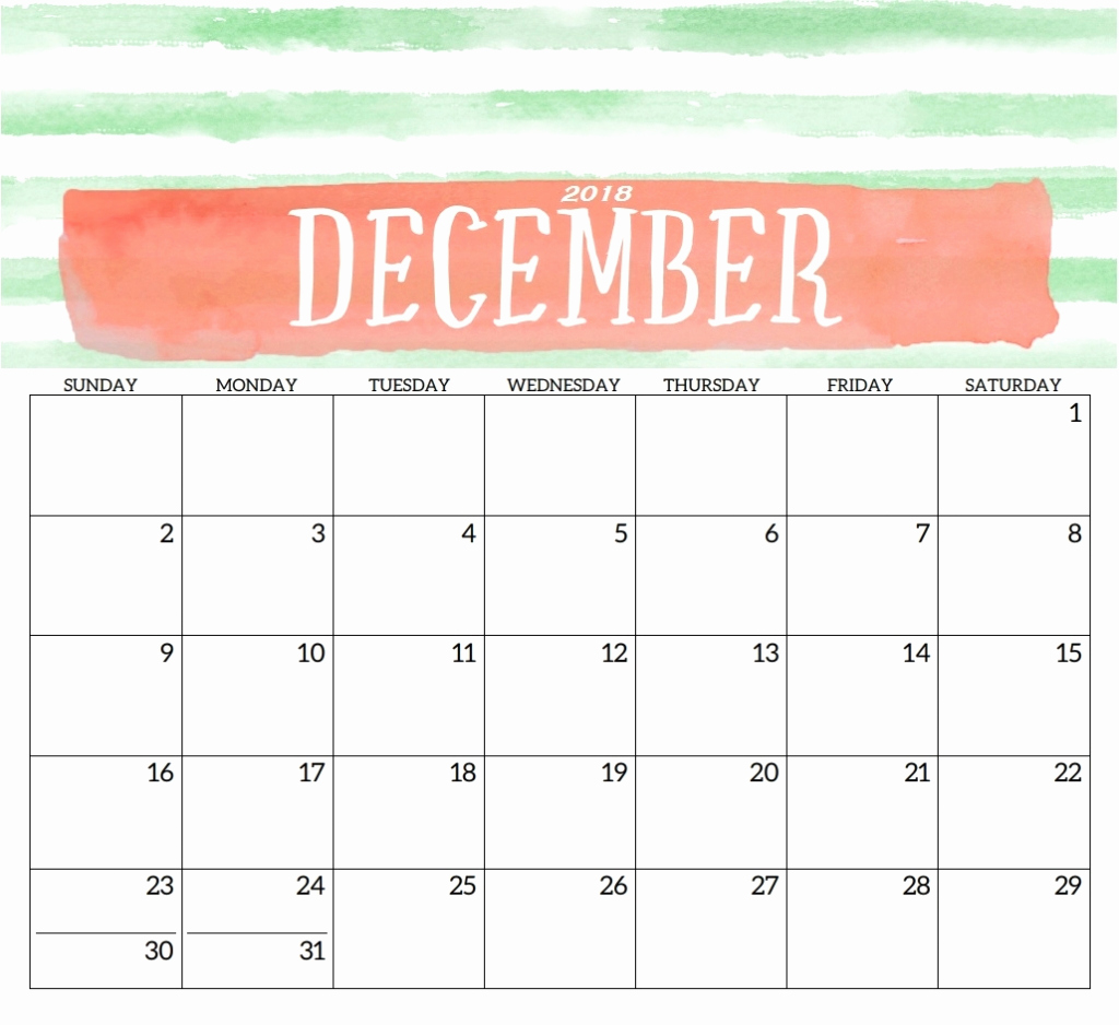 December 2019 Calendar Template from printabletemplatehub.com