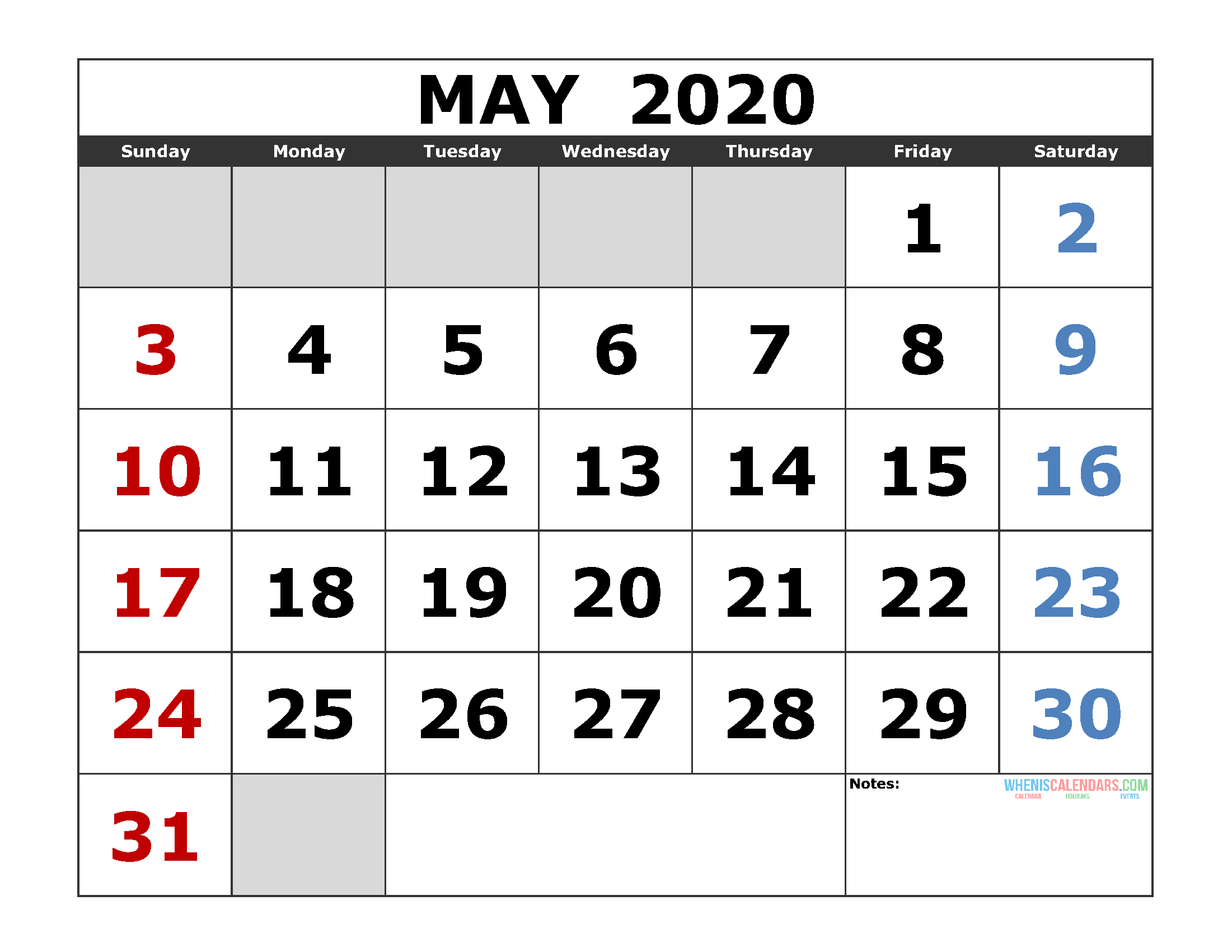 may 2020 calendar png