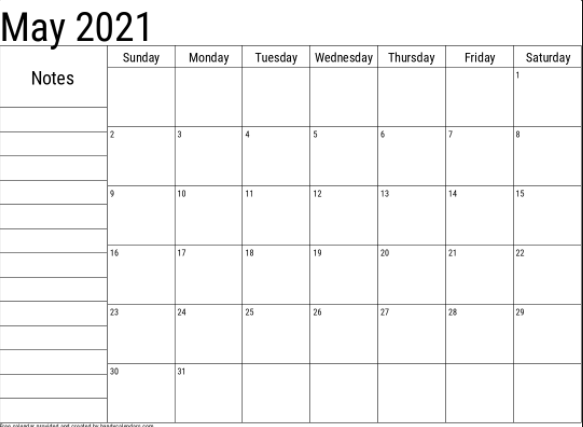 may 2021 portrait template
