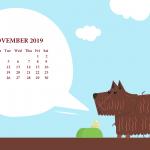 November 2019 Calendar Wallpaper For Desktop