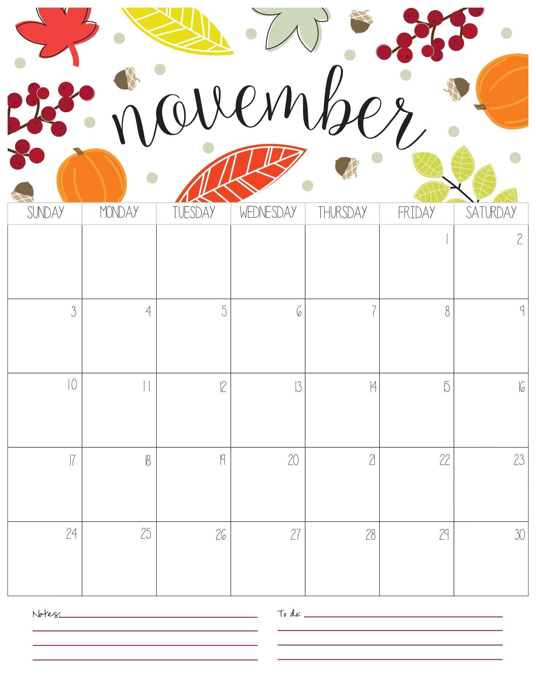 November 2019 Floral Wallpaper