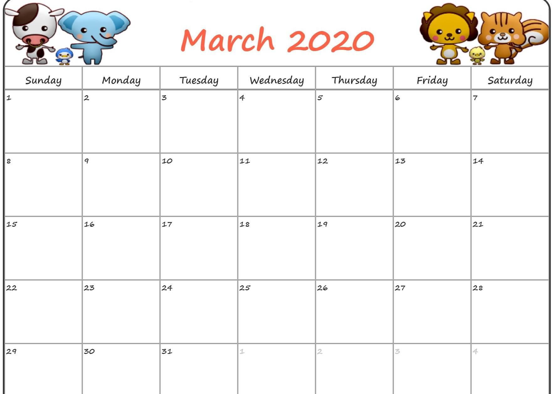 March 2020 Floral Wallpaper