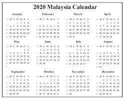 april 2020 calendar malaysia holidays 3
