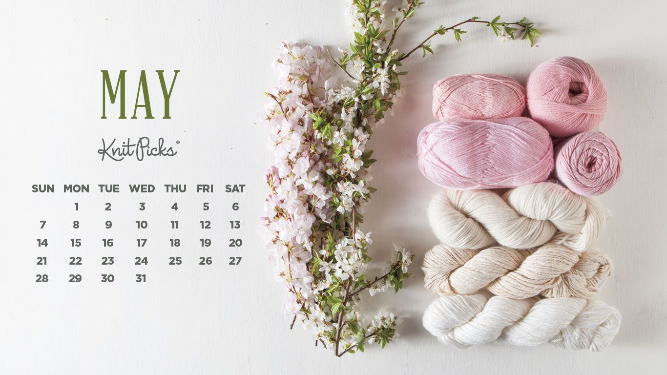 May 2021 Desktop Calendar