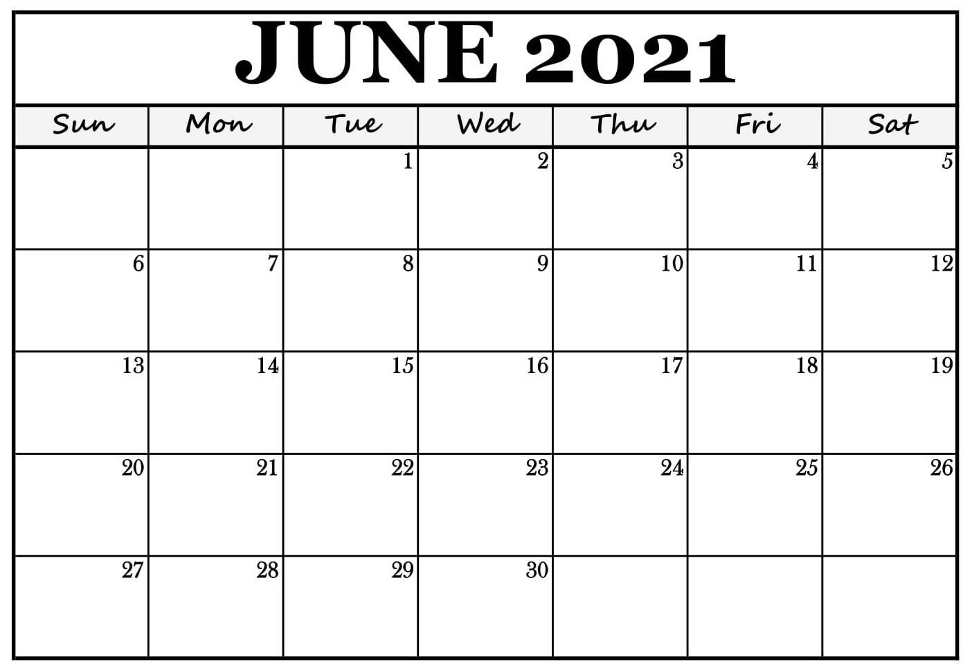 calendar for june 2021 in pdf