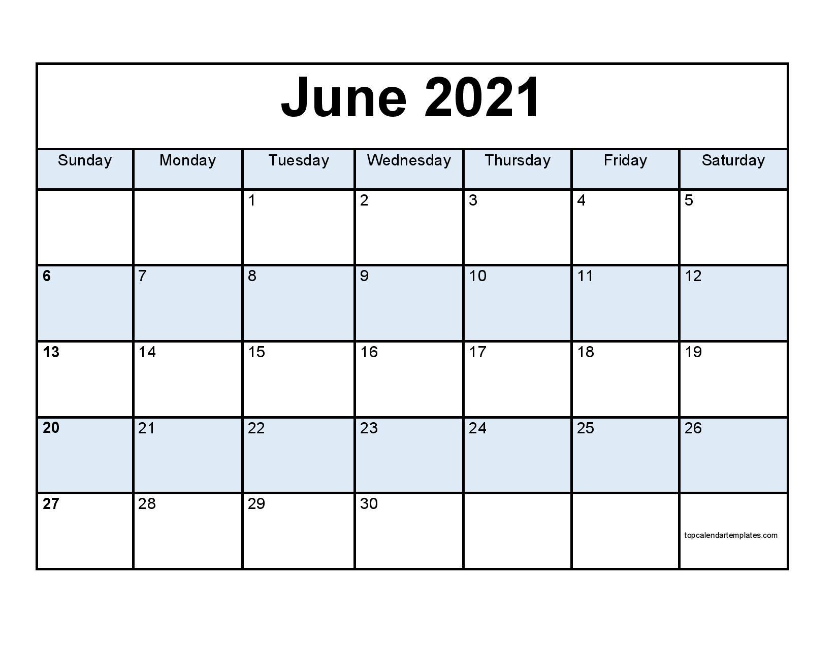 pdf calendar for june month