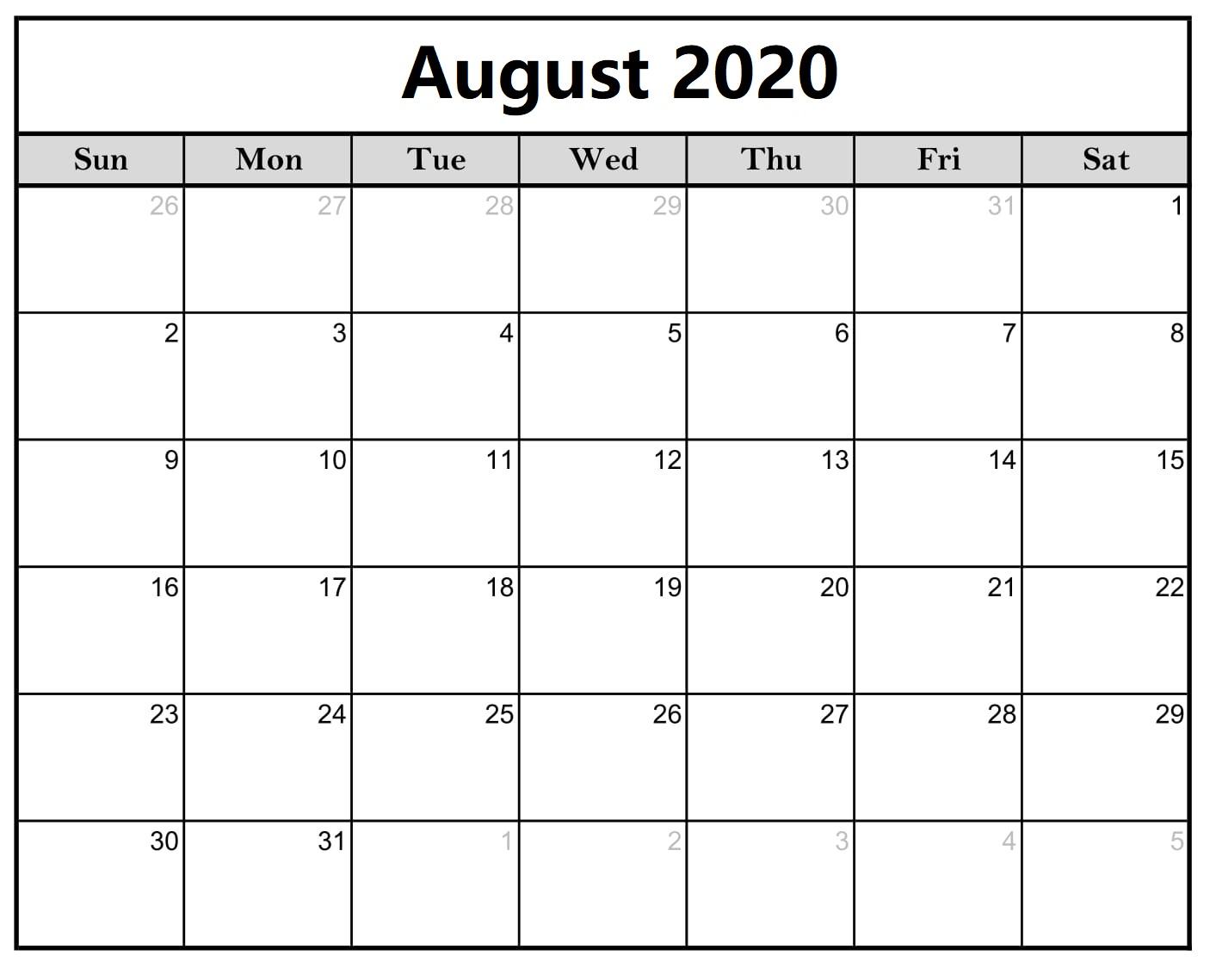 Blank-August-2020-Calendar-Printable 3